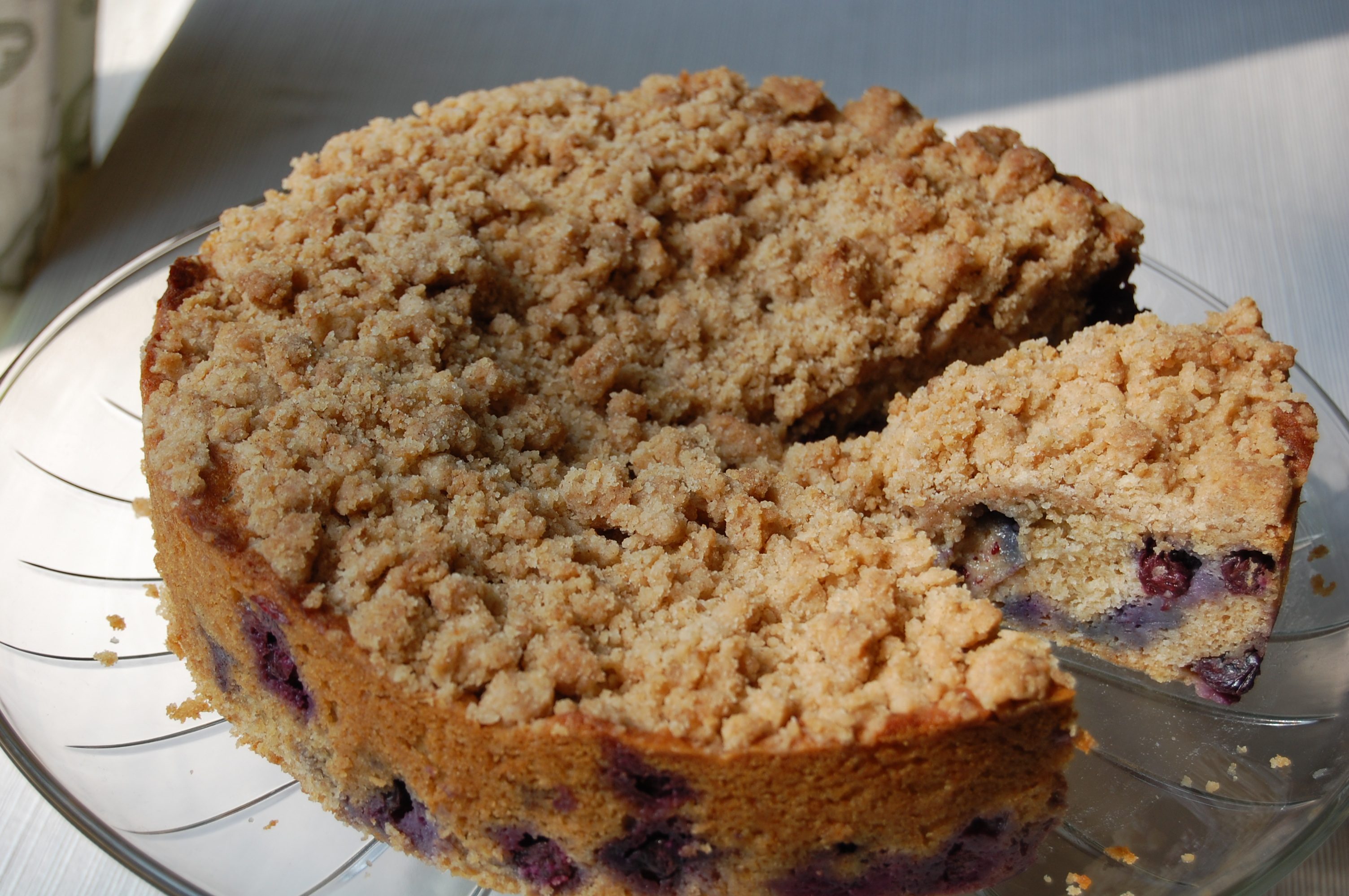 Blueberry Crumb Cake Recipe — Dishmaps
