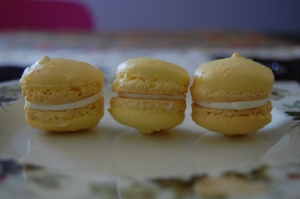 I like smaller macarons.  They're cute!