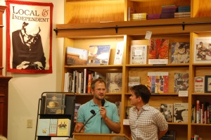 Brent and Josh at Schuler's Books in Lansing!